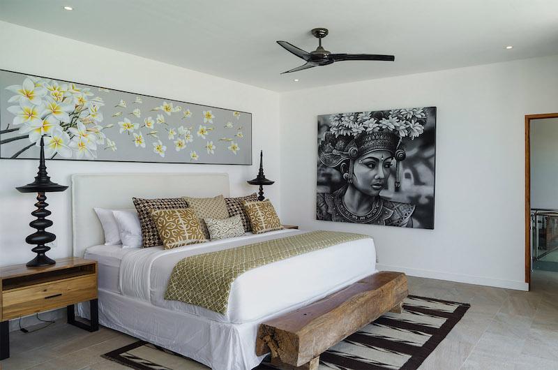 Villa Vida Bedroom with Lamps   Canggu, Bali