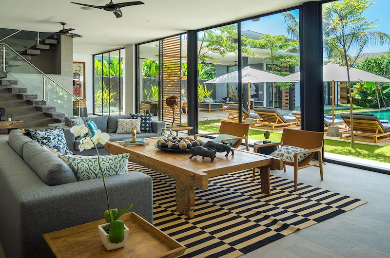 Villa Vida Open Plan Living Area | Canggu, Bali