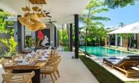 Villa Vida Open Plan Dining Area | Canggu, Bali