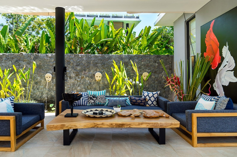 Villa Vida Outdoor Seating | Canggu, Bali