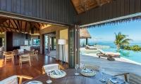 Six Senses Fiji Open Plan Dining Area | Malolo, Fiji