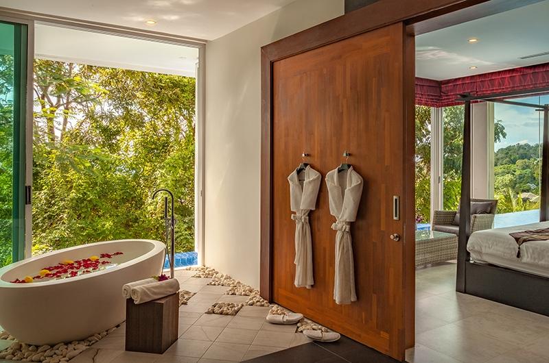Villa Solaris Bathtub Area | Kamala, Phuket