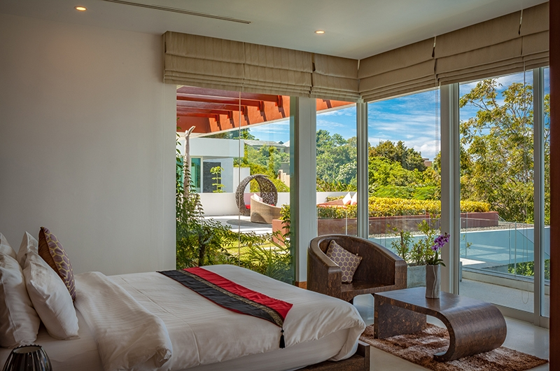 Villa Solaris Bedroom Area | Kamala, Phuket