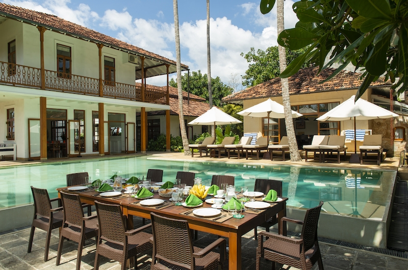 Skye House Outdoor Dining | Koggala, Sri Lanka