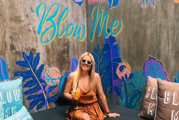 Taylor at Blow Bar Bali | Seminyak, Bali
