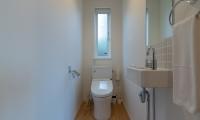 Komorebi Chalet Bathroom One | Hirafu, Niseko
