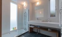 Komorebi Chalet Bathroom with Shower | Hirafu, Niseko