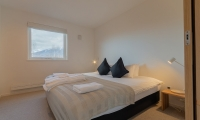 Komorebi Chalet Bedroom with Lamps | Hirafu, Niseko