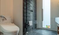 Komorebi Chalet Bathroom Area | Hirafu, Niseko