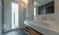 Komorebi Chalet Bathroom | Hirafu, Niseko