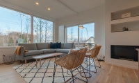 Komorebi Chalet Living Area | Hirafu, Niseko