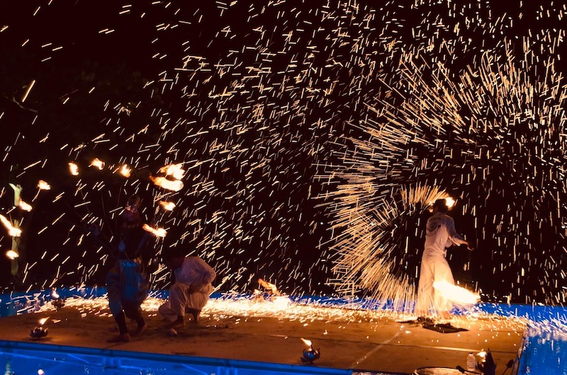 Phuket Kata Rocks Superyacht Rendezvous Fireshow
