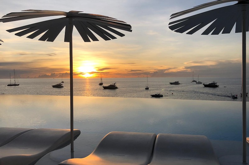 Phuket Kata Rocks Superyacht Rendezvous Sunset