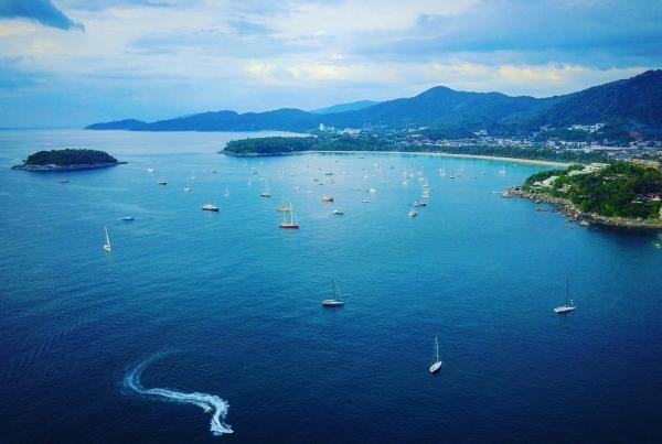 Phuket Kata Rocks Superyacht Rendezvous View