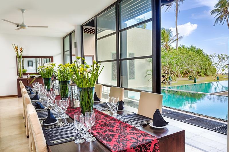 Mirissa Beach Villa Dining Table | Mirissa, Sri Lanka