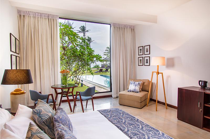 Mirissa Beach Villa Bedroom One Side | Mirissa, Sri Lanka