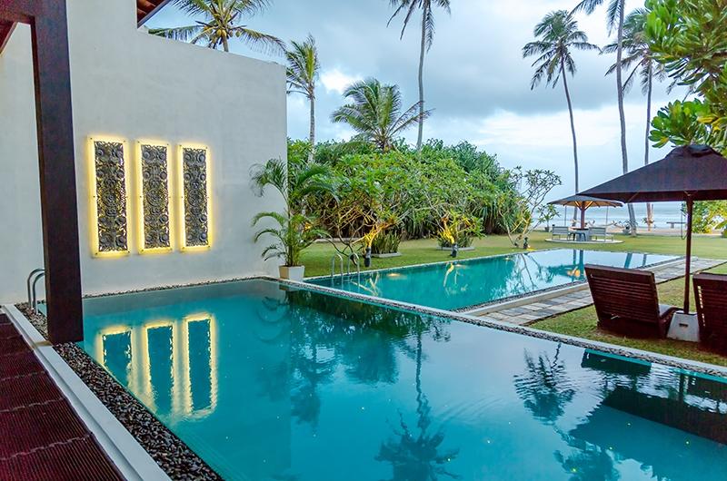 Mirissa Beach Villa Pool and Garden Area | Mirissa, Sri Lanka