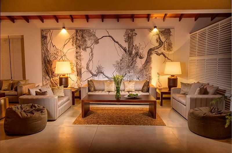 Mirissa Beach Villa Living Area | Mirissa, Sri Lanka