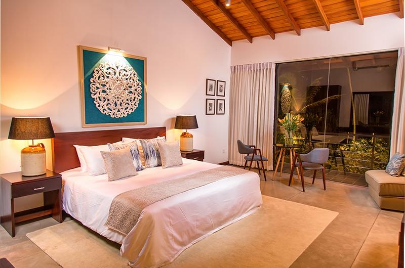 Mirissa Beach Villa Bedroom Area | Mirissa, Sri Lanka