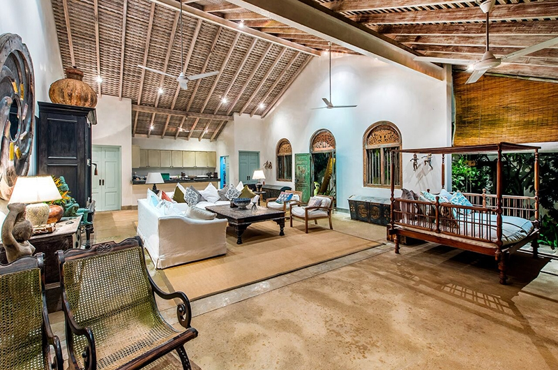 Samudra House Living Area | Galle, Sri Lanka