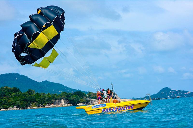 Adrenaline Tour - Parasailing   Koh Samui, Thailand