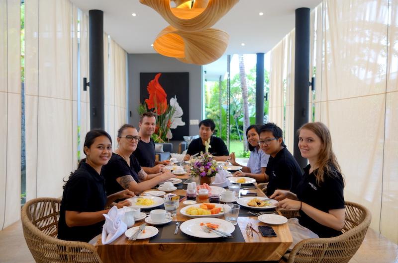 Bali Canggu Villa Vida Dining