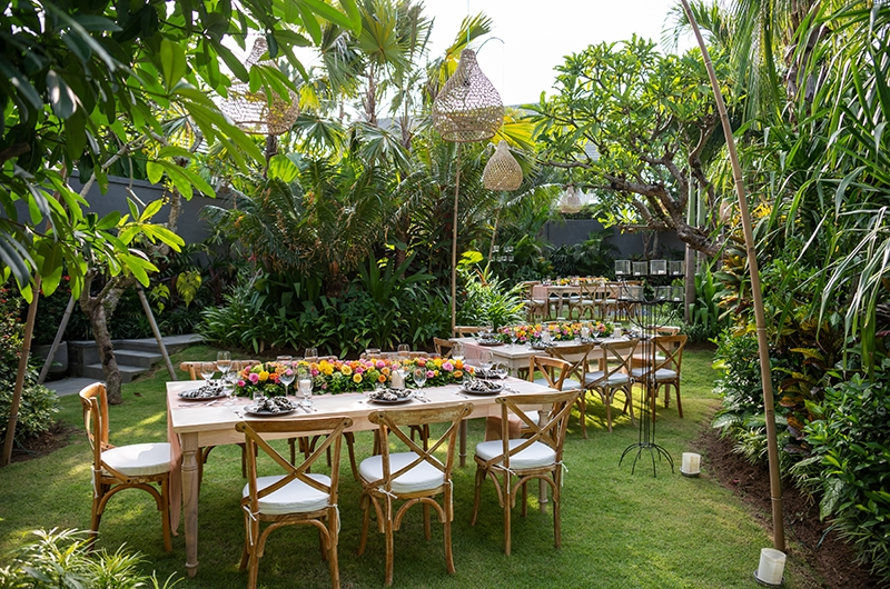 Imperial House Outdoor Dining Area | Canggu, Bali