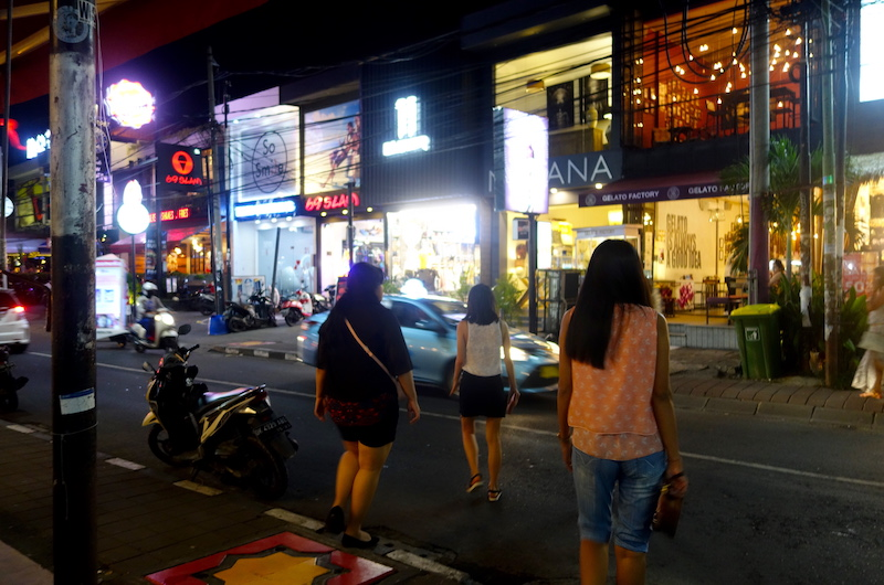 Bali Seminyak Eat Street