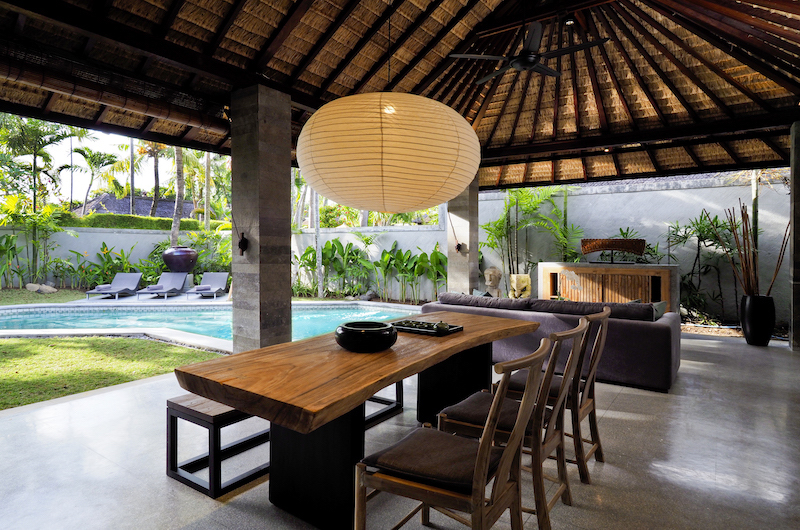 The Amala Two Bedroom Villa Dining Area | Seminyak, Bali