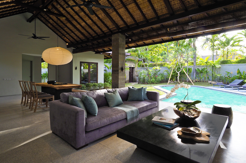 The Amala Two Bedroom Villa Living Room | Seminyak, Bali