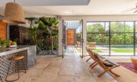 The Starling Villa Kitchen and Dining Area | Canggu, Bali