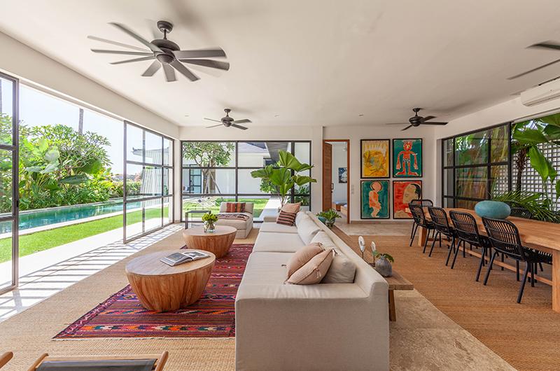 The Starling Villa Living and Dining Area | Canggu, Bali