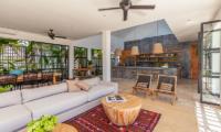 The Starling Villa Living Room Area | Canggu, Bali