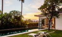 The Starling Villa Sun Decks Area | Canggu, Bali