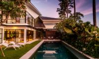 The Starling Villa Pool with Sun Decks | Canggu, Bali