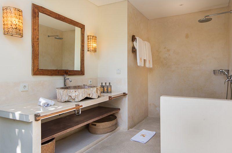 Villa Ku Besar Bathroom with Shower   Seminyak, Bali