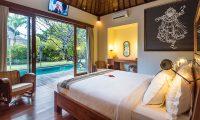 Villa Ku Besar Spacious Bedroom Area   Seminyak, Bali