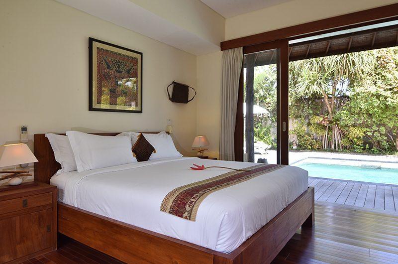 Villa Ku Besar Bedroom Two with Pool View   Seminyak, Bali
