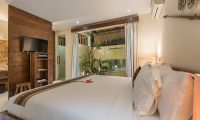 Villa Ku Besar Bedroom with TV   Seminyak, Bali