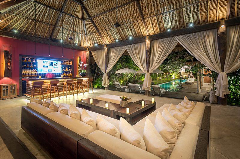 Villa Ku Besar Living Area   Seminyak, Bali