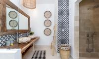 Villa Metisse Bathroom Area with Shower | Seminyak, Bali