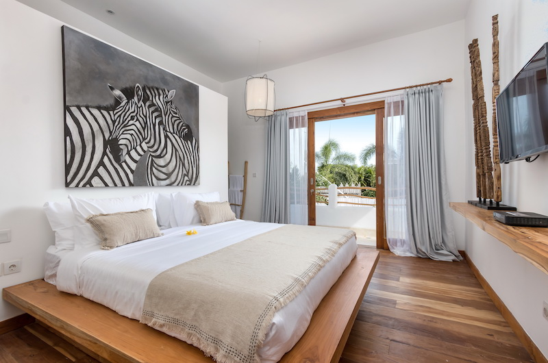 Villa Metisse Bedroom Area with Balcony | Seminyak, Bali