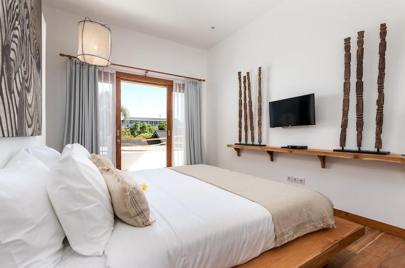 Villa Metisse Bedroom with TV | Seminyak, Bali