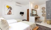 Villa Metisse Twin Bedroom Side | Seminyak, Bali