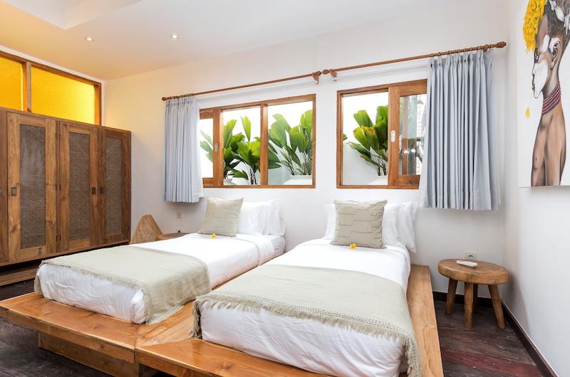 Villa Metisse Twin Bedroom Area | Seminyak, Bali