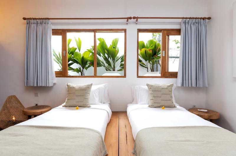 Villa Metisse Twin Bedroom | Seminyak, Bali