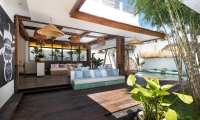 Villa Metisse Outdoor Seating | Seminyak, Bali