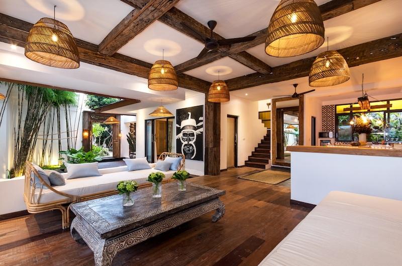 Villa Metisse Living Room | Seminyak, Bali