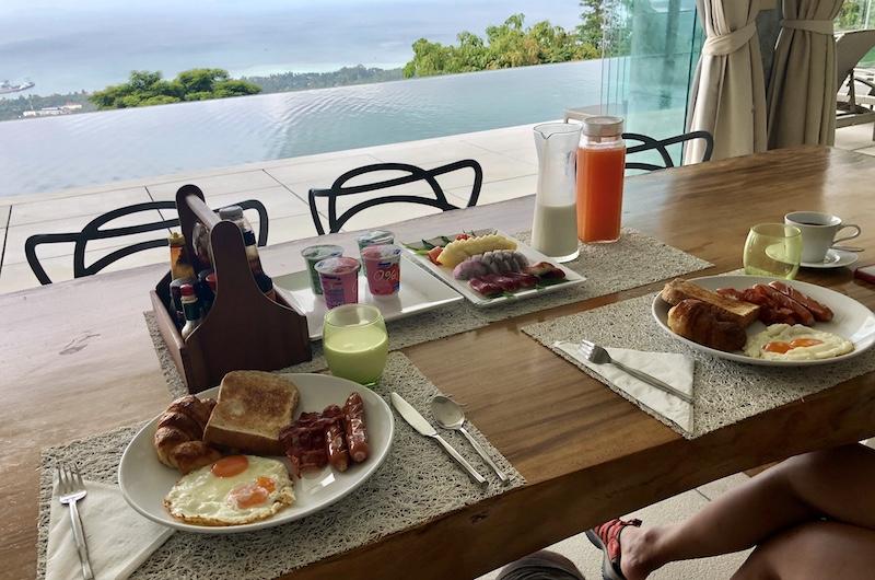 Koh Samui Nathon Villa Zest Breakfast