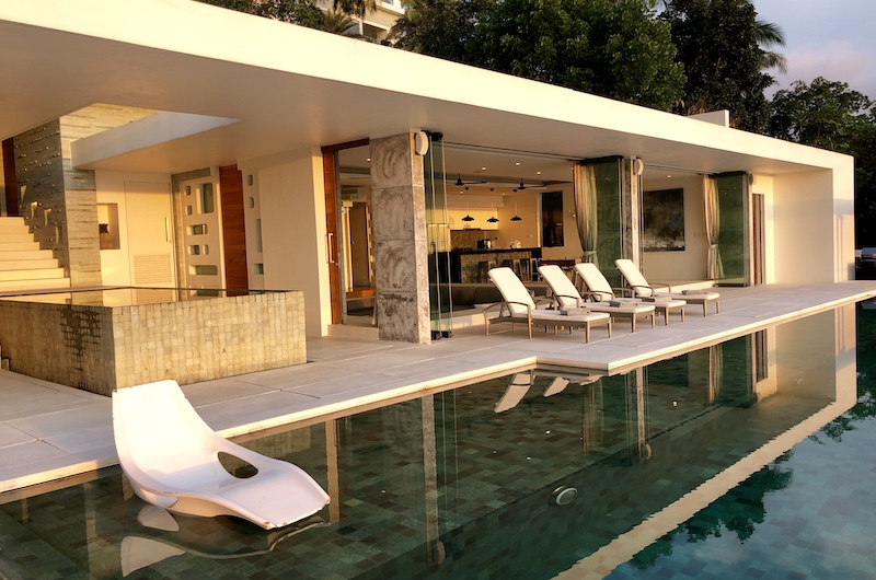 Koh Samui Nathon Villa Zest Sun Beds